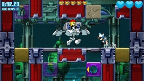 Médias pour Mighty Switch Force  Hyper Drive Edition