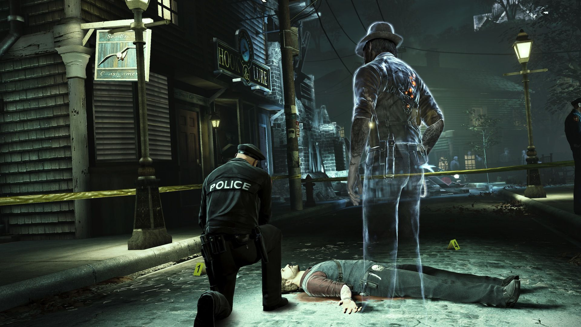 Murdered Soul Suspect Gameplay