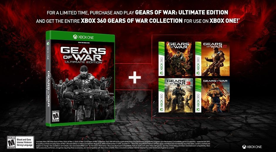 Gears Of War : Ultimate Edition devient Gears Of War : Collection
