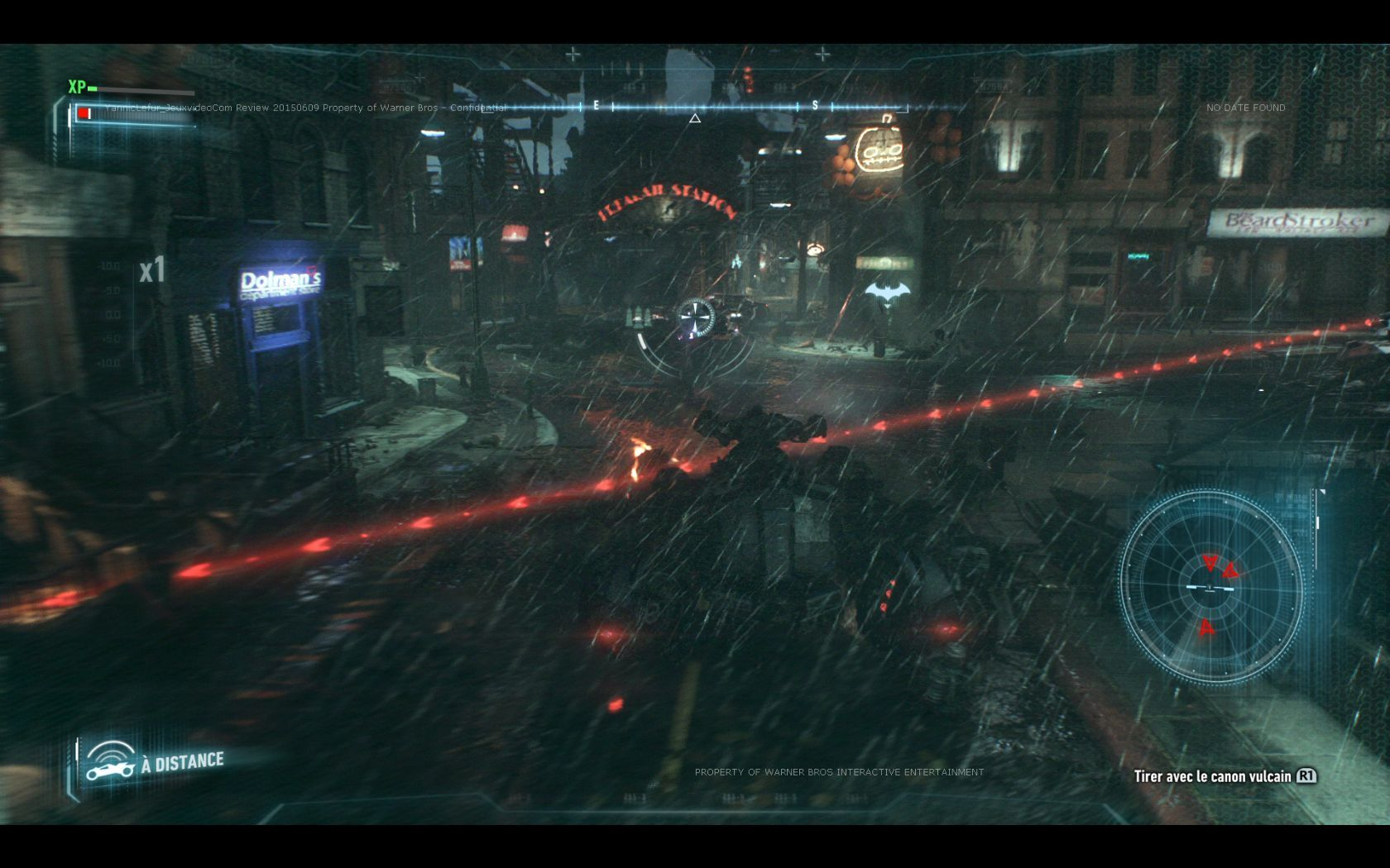 Test Batman: Arkham Knight. Be the night. #3