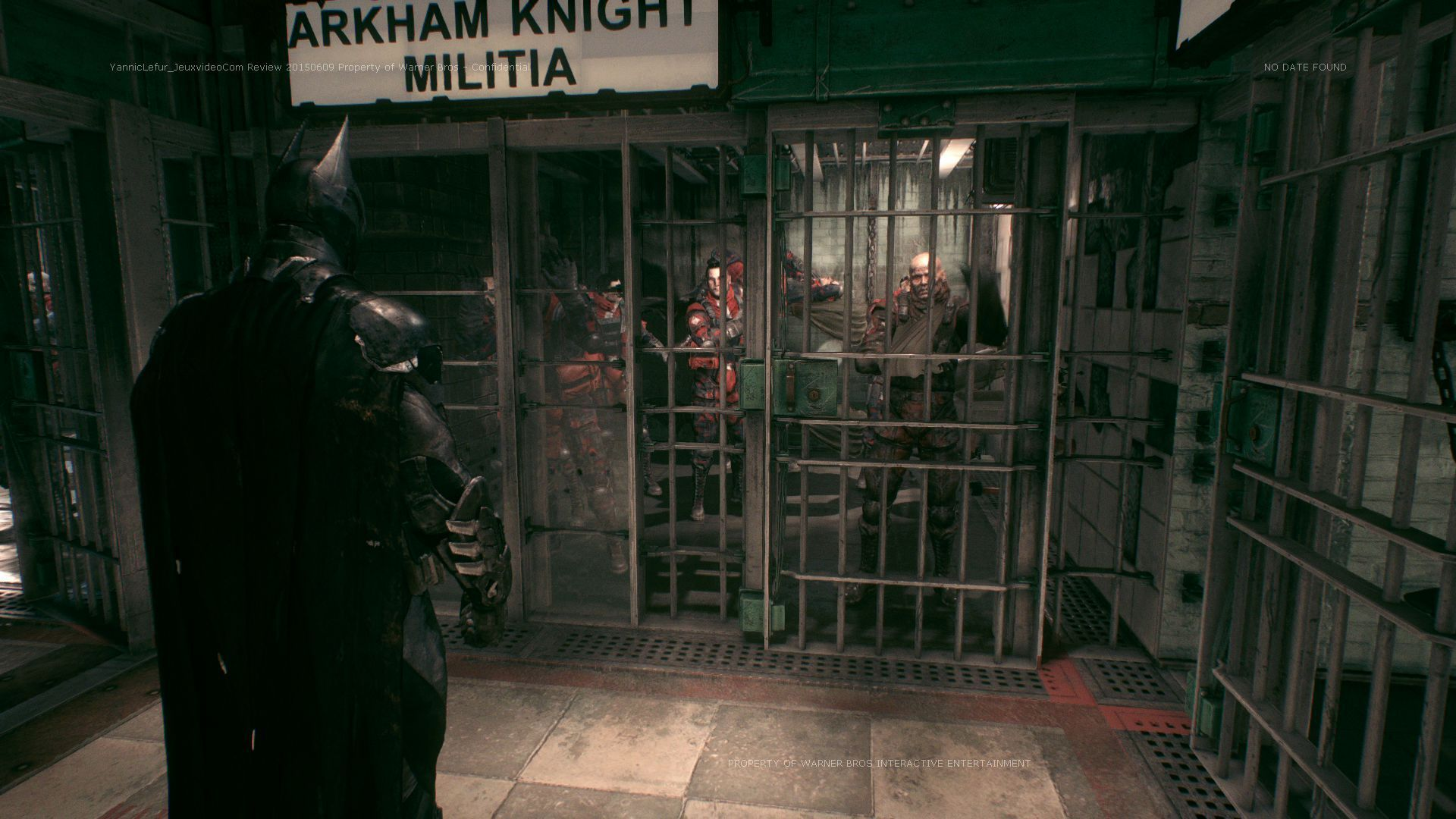 Test Batman: Arkham Knight. Be the night. #2