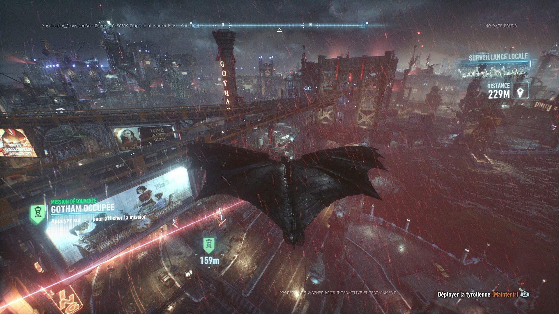 Test Batman: Arkham Knight. Be the night. #4