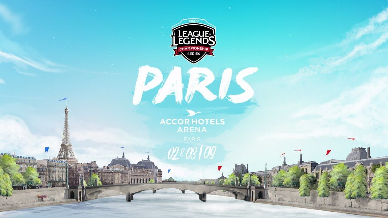 League of Legends : Les finales Européennes à Paris