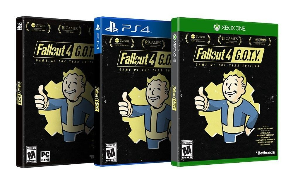 Fallout 4 arrive en édition Game of the Year