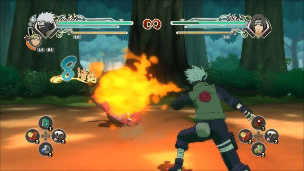 Video Test Naruto Shippuden Ultimate Ninja Storm Generation (X360)