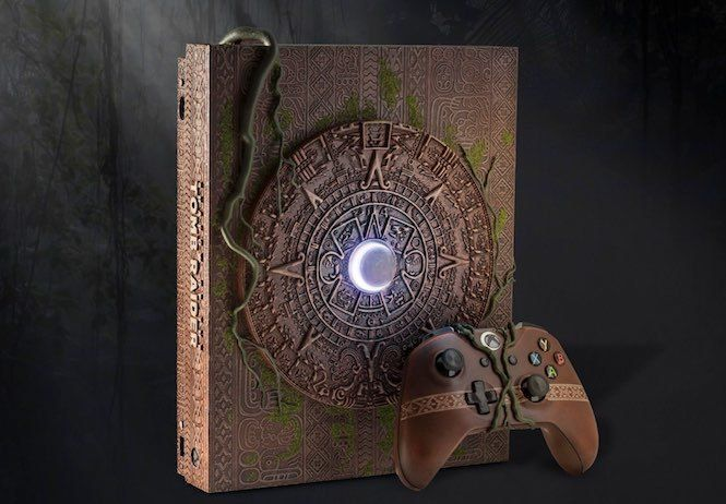 Shadow of the Tomb Raider : Une Xbox X ultra collector vendu pour 8300 $